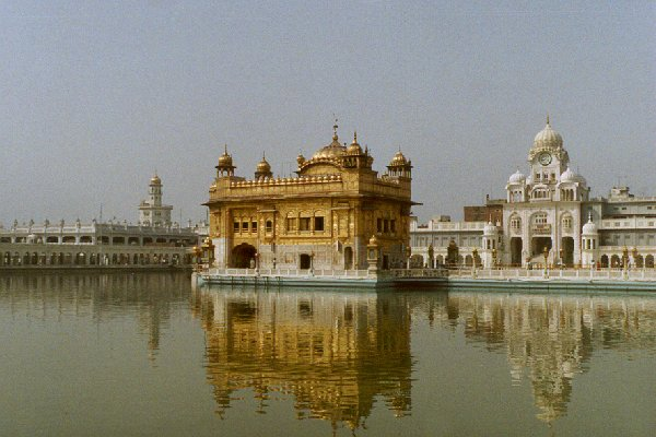 Golden temple of the Sikh, in Amritsar